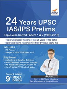 24 years upsc IAS Solved Papers